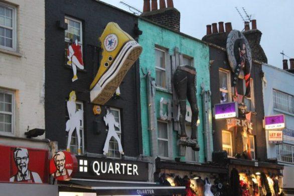 Camden Town Market Londres