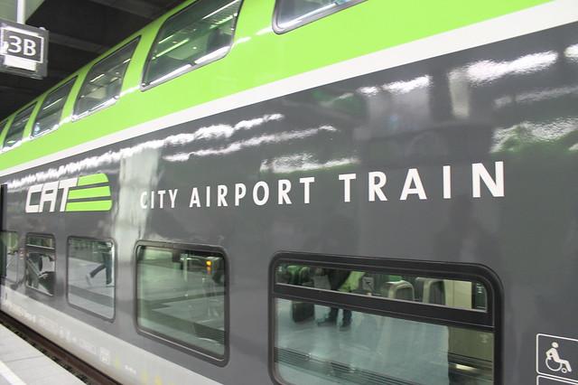 Transporte público en Viena City Airport Train