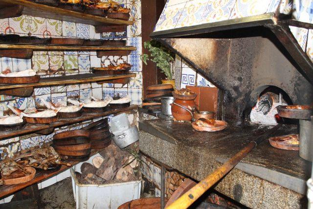 Cocina Casa Botín Madrid