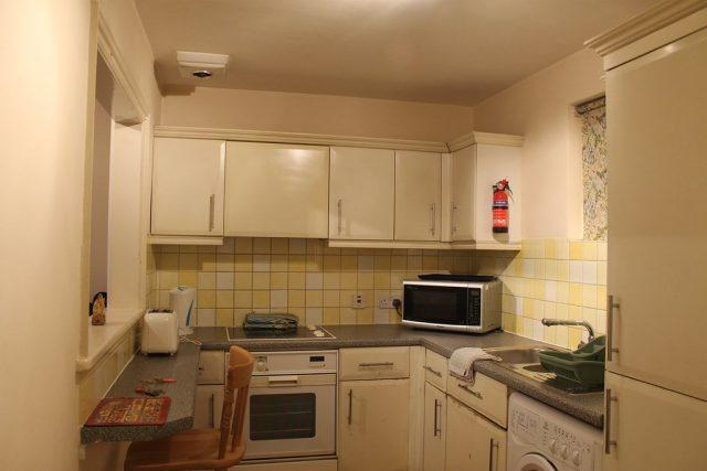 Cocina apartamento Londres