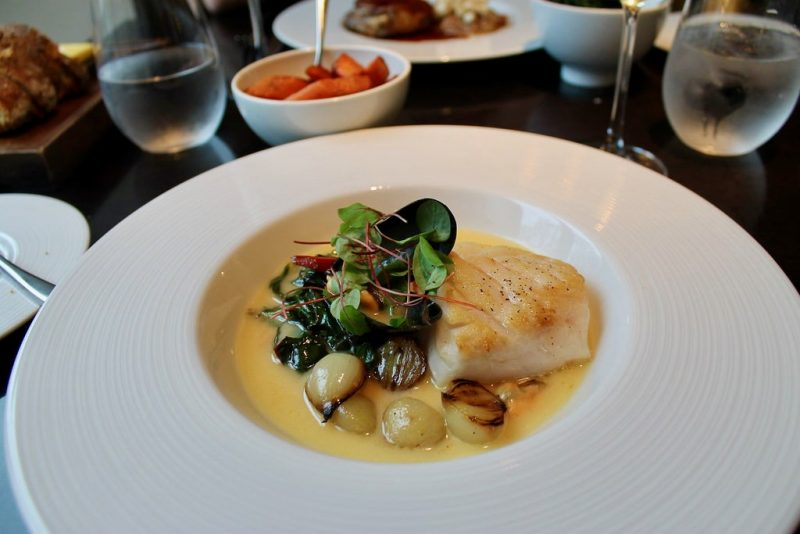 Cod in cider Dinner by Heston Blumenthal Londres