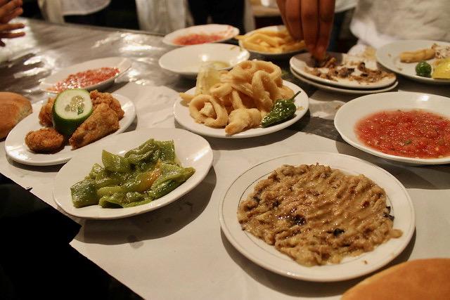 Comida Puesto 14 Plaza Jemma el Fna
