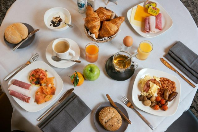Desayuno Martin's Waterloo