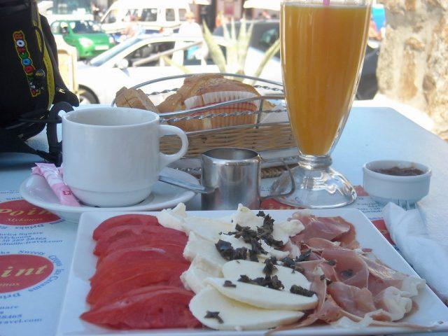 Desayuno griego