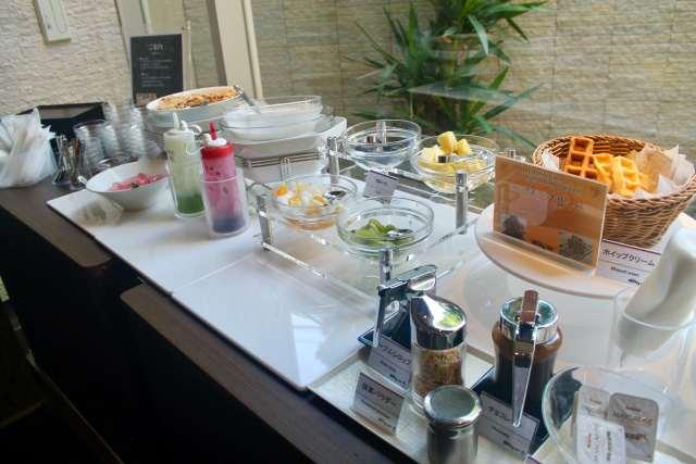 Desayuno bufet Dormy Inn Premium Shibuya Tokio