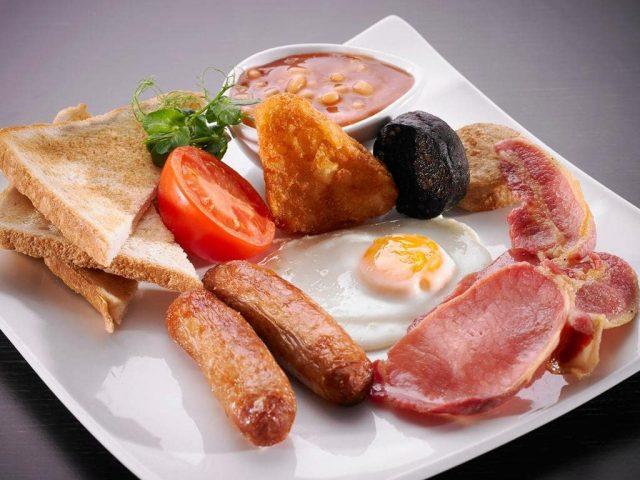 Irish breakfast Temple Bar Hotel