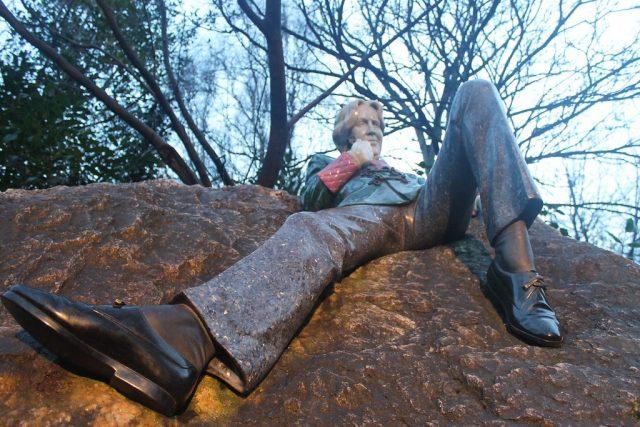Estatua de Oscar Wilde Dublin