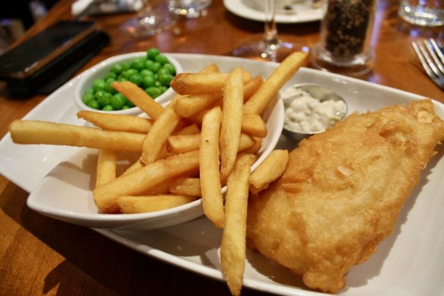 Fish and chips Deanes Love Fish Belfast