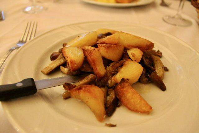 Funghi porcini Ristorante Settimio Roma