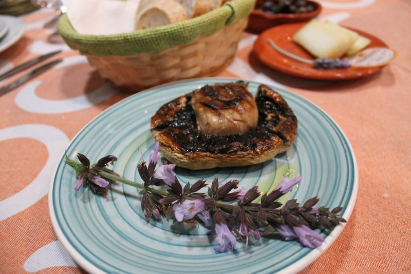 Gurumelo a la brasa Restaurante Sem-Fim Monsaraz Portugal
