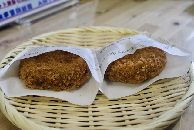 Hida minced beef cutlet