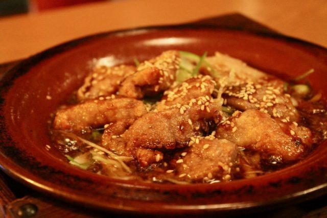 Kioto Hot pot de atún y puerro con pimienta sansho Mimasu-ya