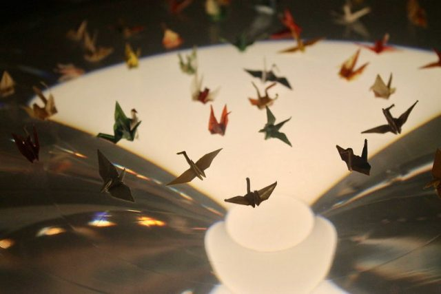Las mil grullas de papel de Sadako