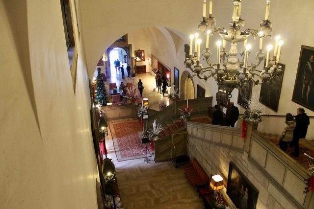Lobby Parador de San Marcos Leon