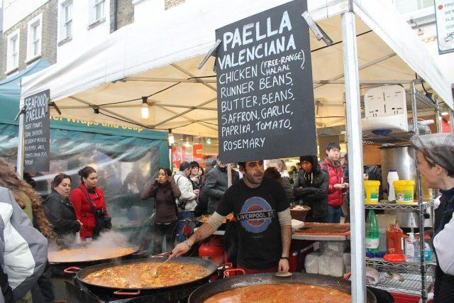 Paella Portobello Road Market