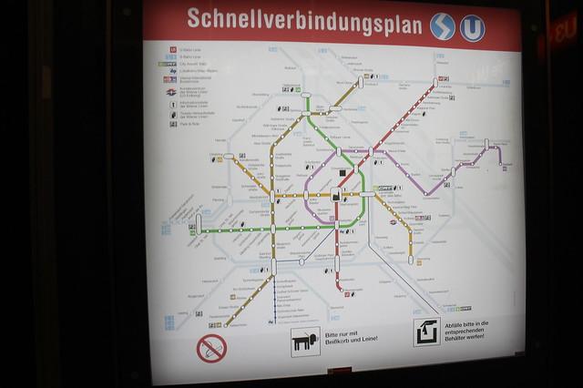 Plano metro Viena