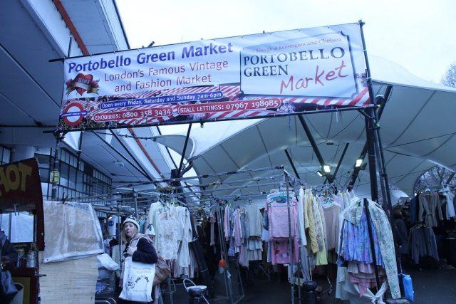 Portobello Green Market Londres