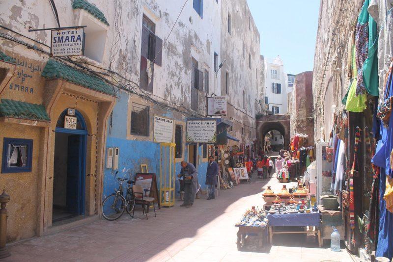 Puestos Medina Essaouira