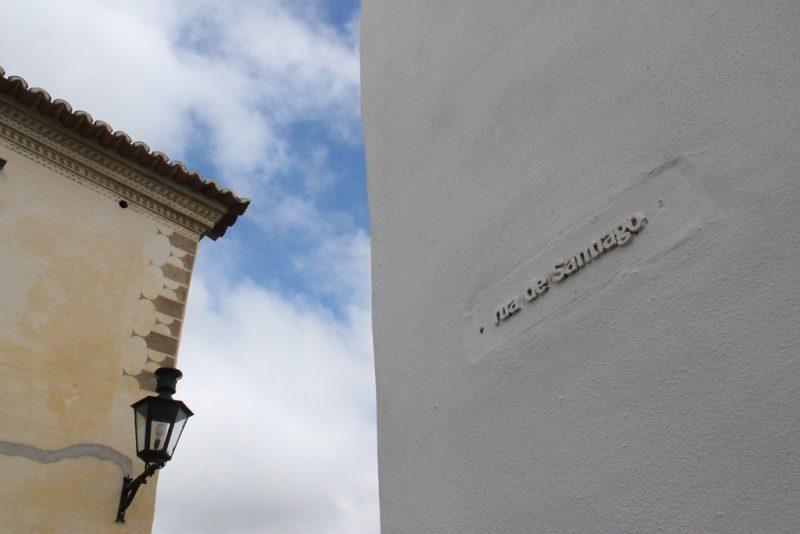 Rua de Santiago Monsaraz Portugal