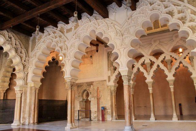 Salon Dorado Palacio de la Aljafería Zaragoza