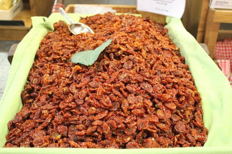 Tomates secos Mercado Central de Florencia