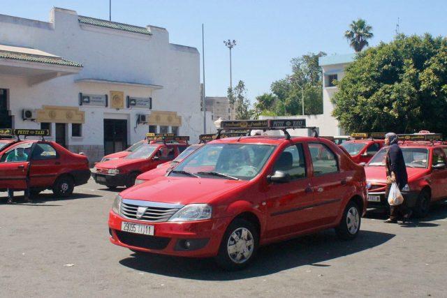 Transporte público en Casablanca: taxi
