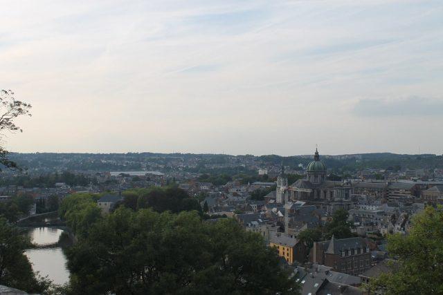 Vistas de Namur Belgica