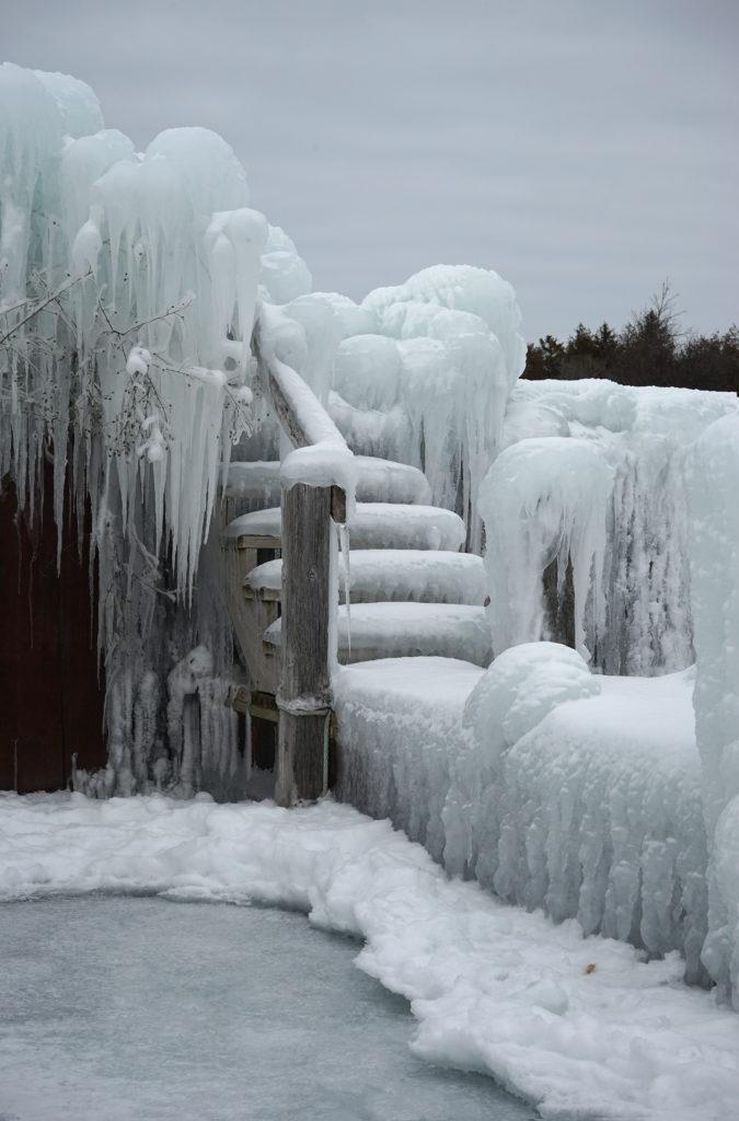winter in Door County Wisconsin