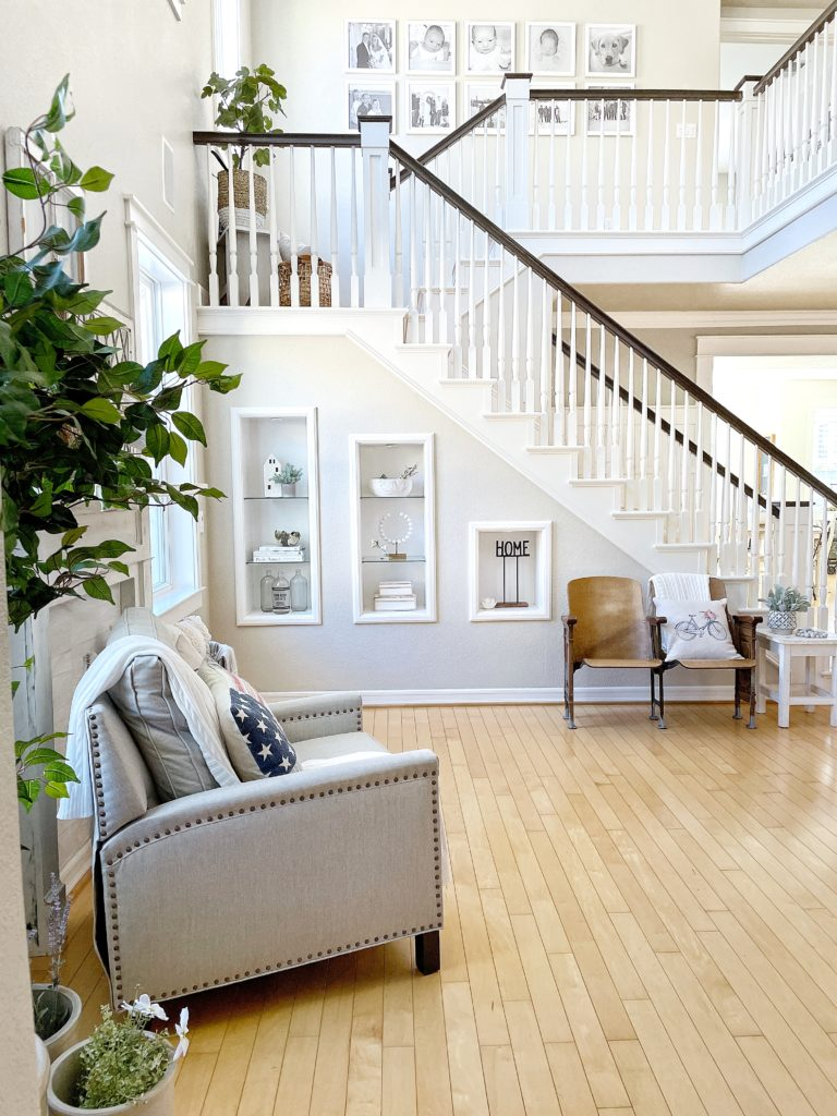 Bright and Airy summer home tour