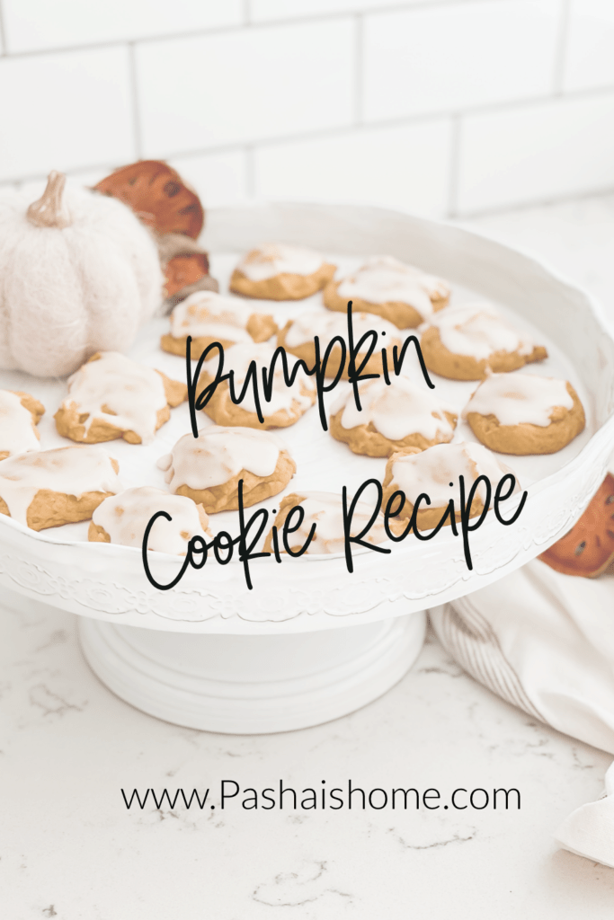 Pumpkin Cookies recipe for a fall favorite soft pumpkin cookies