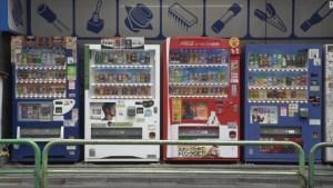 Vending Machine Bertebaran