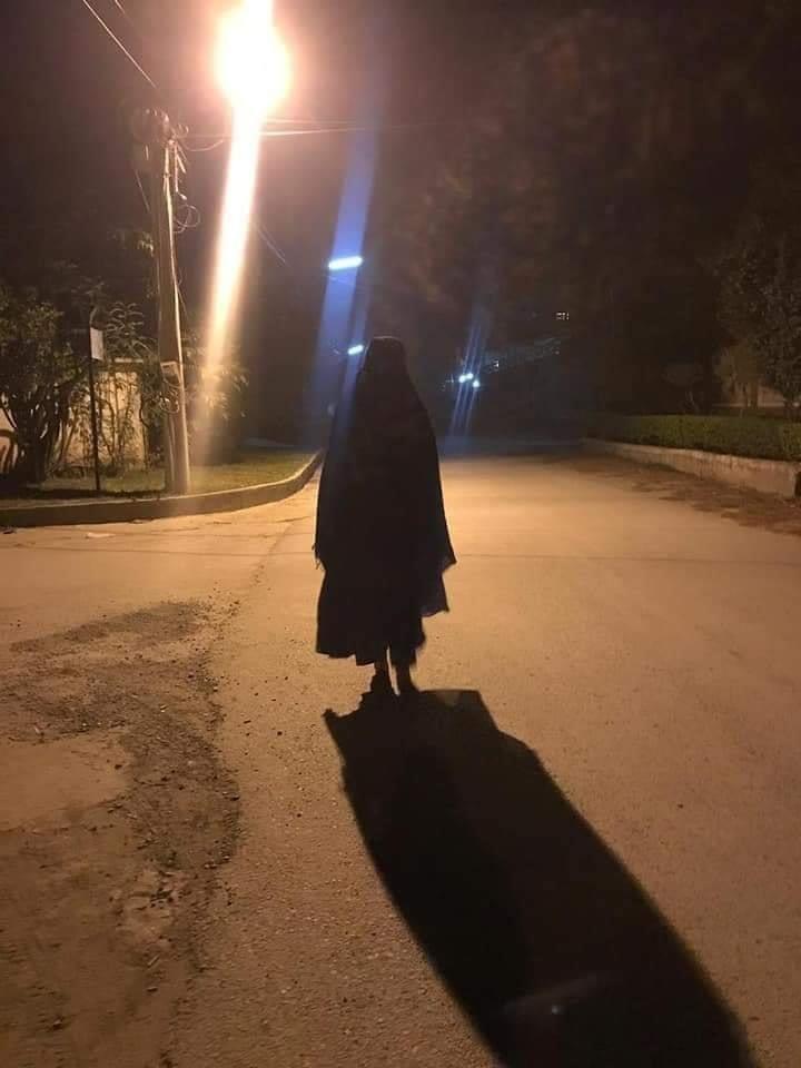 ghost in hayatabad