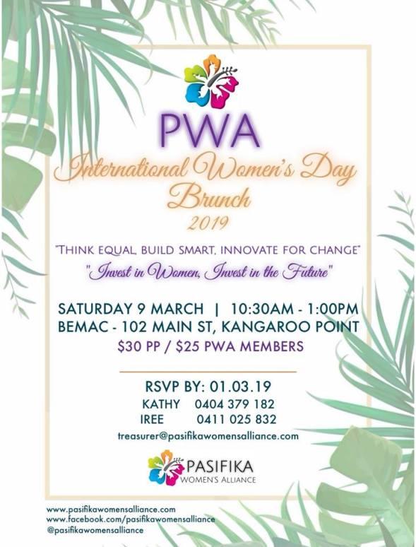 PWA IWD 2019 - OFFICIAL FLYER