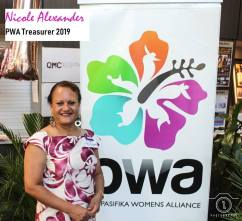 PWA Treasurer - Nicole Alexander