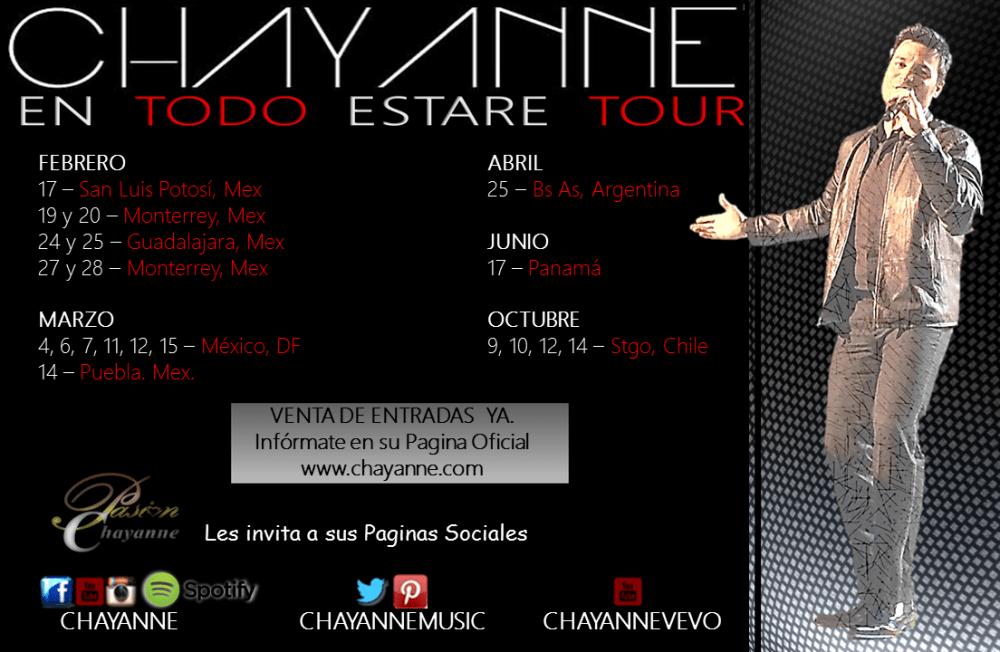 CHAYANNE... MAGIA EN EL ESCENARIO (2/3)