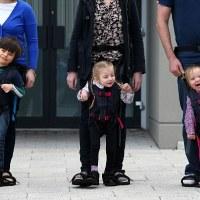 UpSee: un arnés para niños con discapacidad motriz