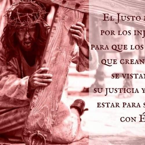 jesus justicia nuestra