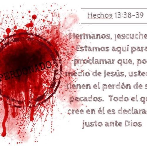 la sangre de Jesus nos limpia de todo pecado