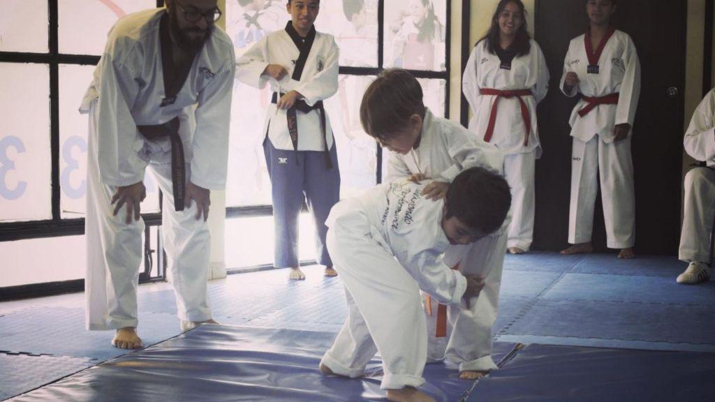 grappling en taekwondo