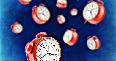 czerwone zegary