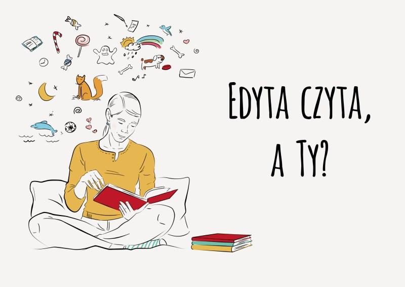 Edyta czyta