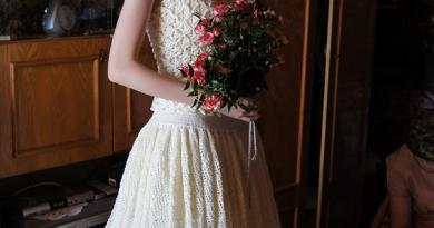 suknia ślubna na szydełku, szydełkowanie