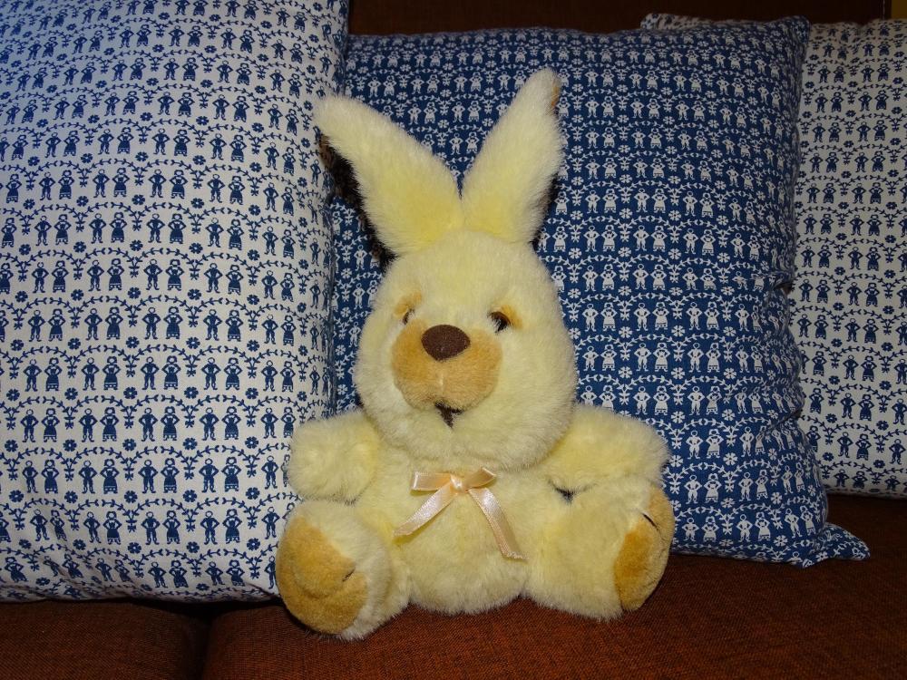Poduszki z królikiem