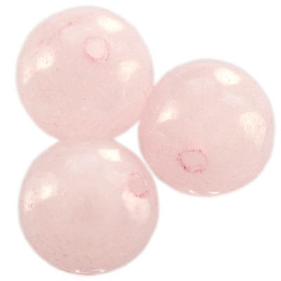 Kule różowy kwarc 8mm 2szt.