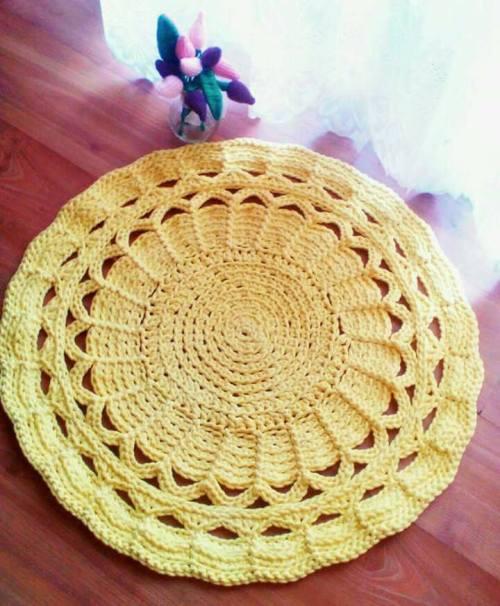 Jalugami - żółty dywan