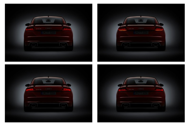 All new optional organic LED taillights