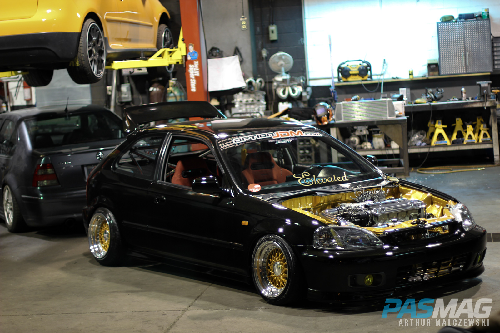 hight resolution of elevated brian requena s 1996 honda civic hatchback