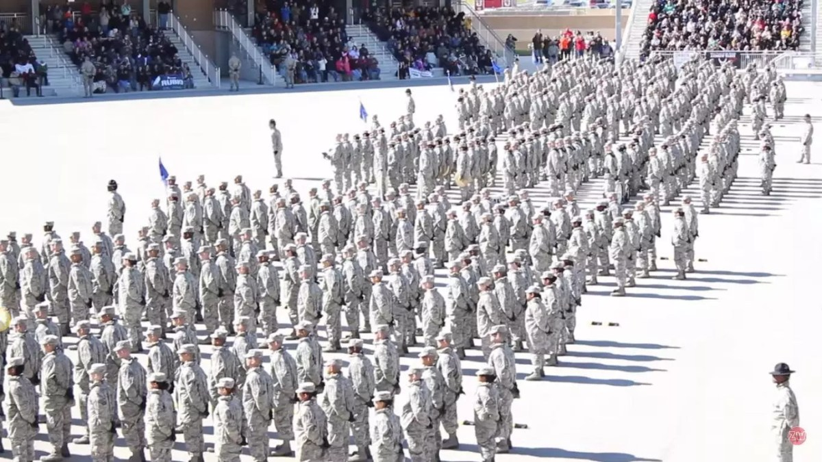 Lackland AFB BMT Graduation Day - Overview
