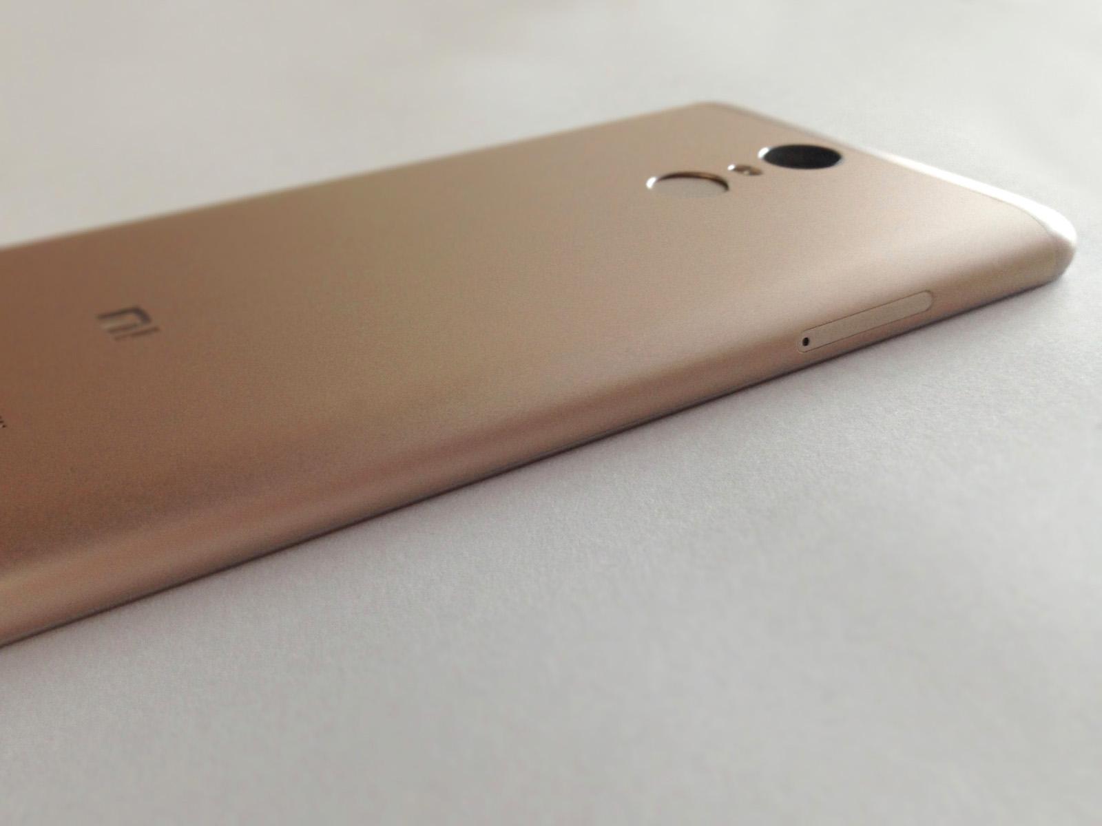 Xiaomi Redmi Note 3 Pro 側面