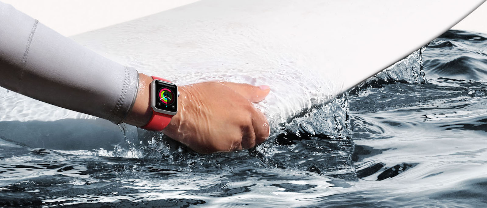 Apple Watch Series 2 防水対応
